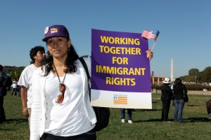 SEIU 32BJ One Nation March and Rally